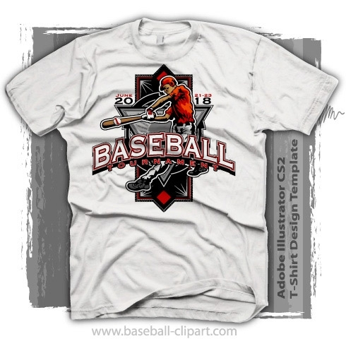 tournament baseball t shirt design template - Baseball T Shirt Designs Ideas