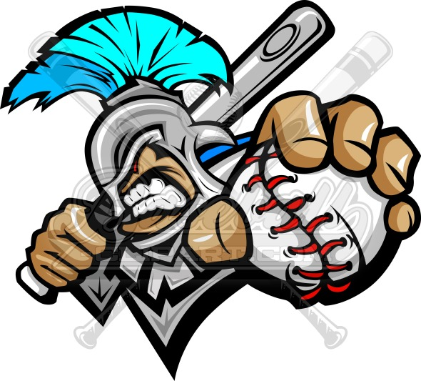 Titan Baseball Clipart Graphic