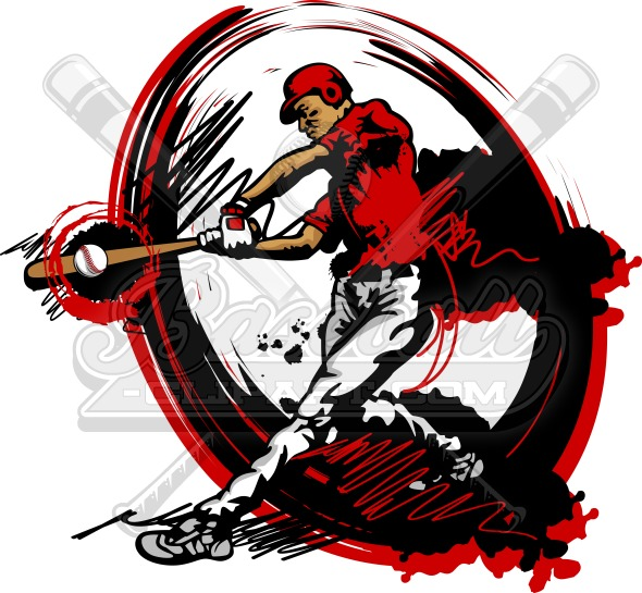 Baseball Vector Art – Sports Clipart Design